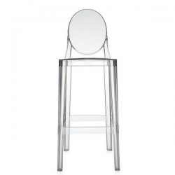 Kartell One More Stool Crystal