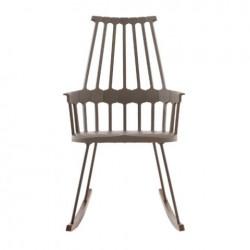 Kartell Comback Rocking Chair Hazelnut brown - Oak