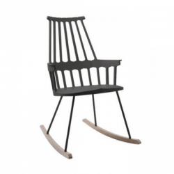 Kartell Comback Rocking Chair Black-oak