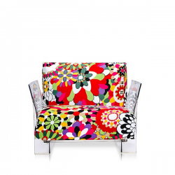 Kartell Pop Seater Missoni Shades of red