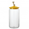 Alessi Mio Jar for Cat Food Yellow