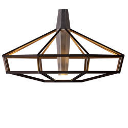 Driade Lampsi Lamp Brown