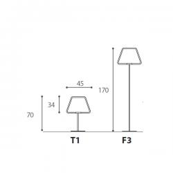 Antonangeli Archetto Shaped F3 Floor Lamp