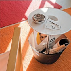 Alessi Pick-Up Side Table and Magazine Stand