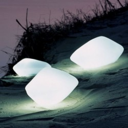 Oluce Stones Outdoor Lamp