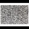 Nanimarquina Black on white Manuscrit Carpet
