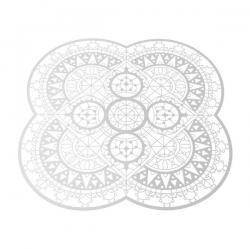 Driade Italic Lace Petal Placemat