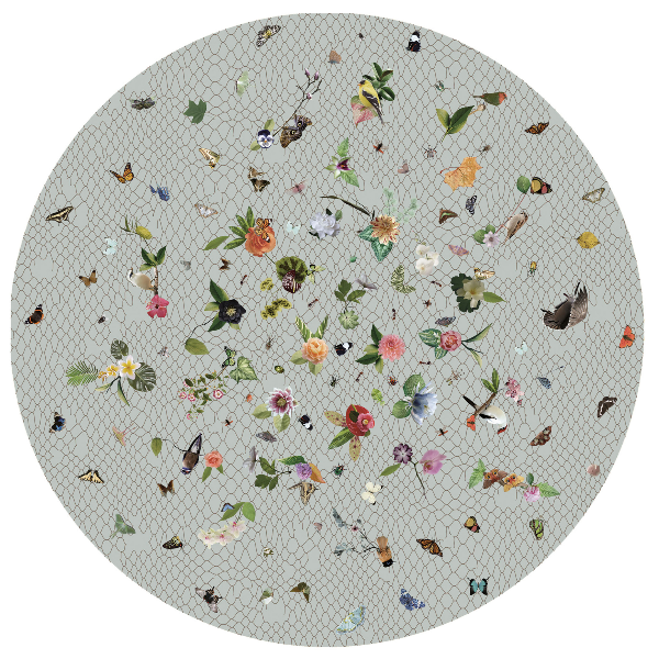 Moooi Garden of Eden Light Grey Signature Carpet