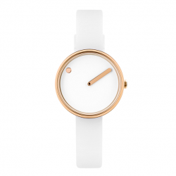 Picto Watch white/Gold