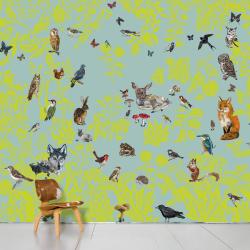 Domestic Fôret verte Wallpaper
