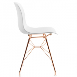 Magis Troy Chair Wire Polypropylene seat