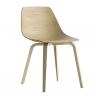 Lapalma Miunn Chair Wooden Legs