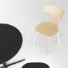 Lapalma Fedra Chair Wooden Legs