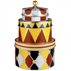 Alessi Circus Set of three all-purpose boxes