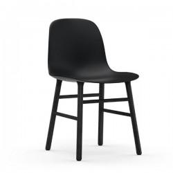 Normann Copenhagen Form Chair Black Legs