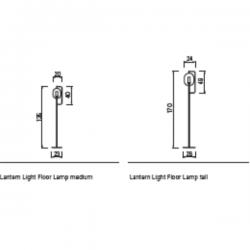 ClassiCon Lantern Light Floor Lamp
