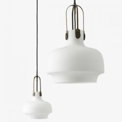 &Tradition Copenhagen Pendant Lamp Opal Glass