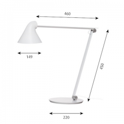 Louis Poulsen NJP Table Lamp