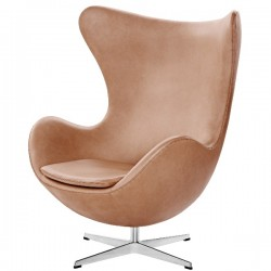 Fritz Hansen Egg Lounge Chair Leather