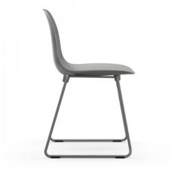 Normann Copenhagen Form Chair Stacking Steel Legs
