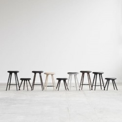 Mater High Stool Sirka Grey Stained Oak 74cm