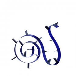 Kartell Bookworm 8m20 Cobalt Blue