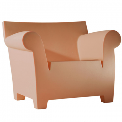 Kartell Bubble Club Chair Siena Red