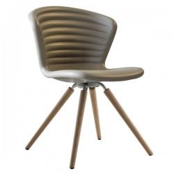 Tonon Marshmallow Chair Wood Legs