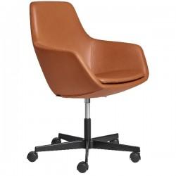 Fritz Hansen Little Giraffe Chair 3221 Swivel Leather