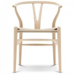 Carl Hansen & Søn CH24 Wishbone Chair Beech Soap