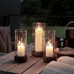 Stelton Hurricane Candle Holders