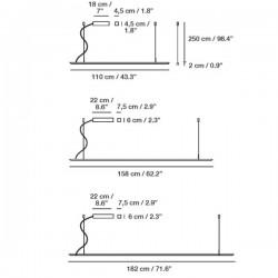 Carpyen Lineal Suspension Lamp