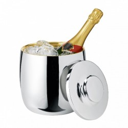 Stelton Foster Champagne Cooler / ice bucket with ice tongs