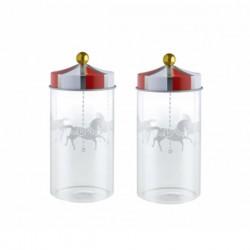 Alessi Circus Set of Spice Jars