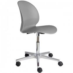 Fritz Hansen N02 Recycle Swivel Chair grey
