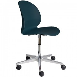 Fritz Hansen N02 Recycle Swivel Chair dark Blue