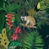 Moustache Jungle Wallpaper