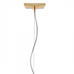 Kartell Easy Metalic Lamp Gold