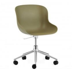 Normann Copenhagen Hyg Steel Chair Swivel 5W Gaslift