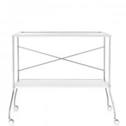 Kartell Flip Trolley Solid White