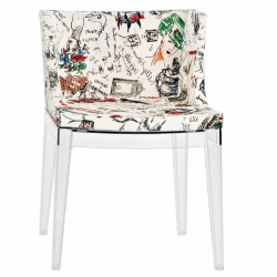 Kartell  Mademoiselle Chair Moschino Sketches