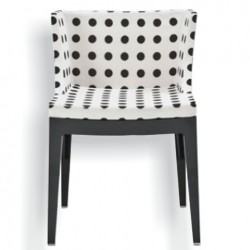 Kartell Mademoiselle Chair White pattern